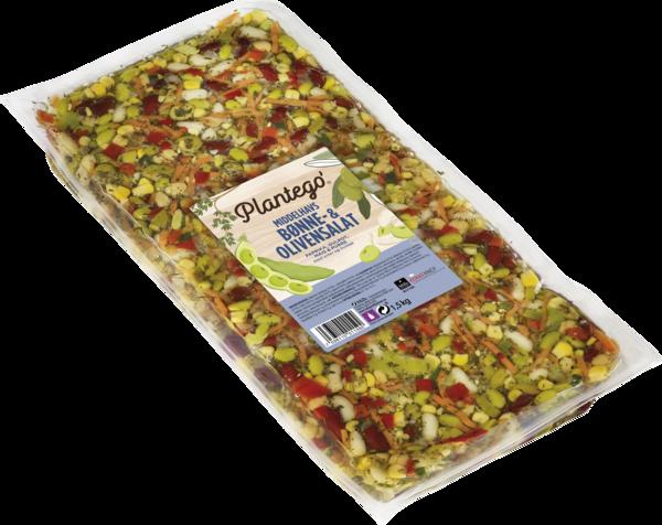 Plantego'  Bønne & Olivensalat 3×1,5 kg