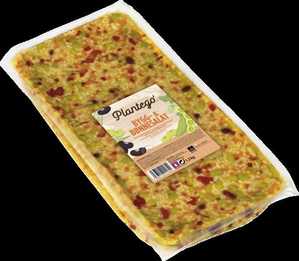 Plantego' Bygg- og bønnesalat 3×1,5 kg